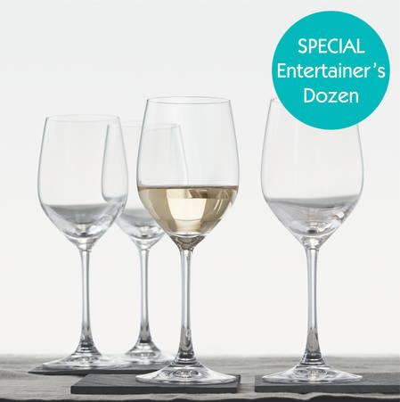 Entertainers Vino Grande White Wine Glass Set