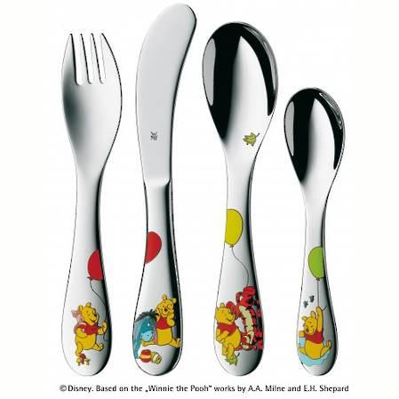 'Disney Winnie The Pooh' Children's Cutlery Set