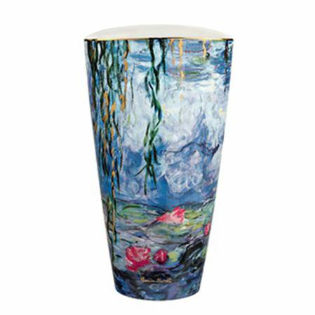 Monet Waterlilies 28cm Vase