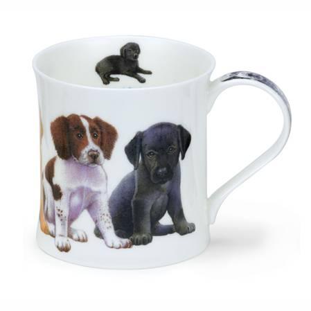 Dunoon Puppies Spaniels Mug