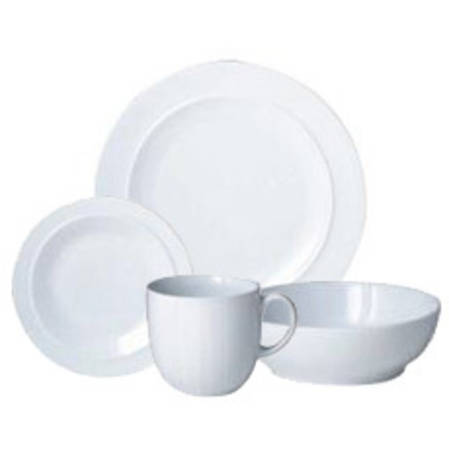 Denby White 16 Piece Set