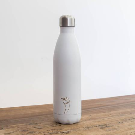 Chilly's Insulated Bottle Matte White 750ml