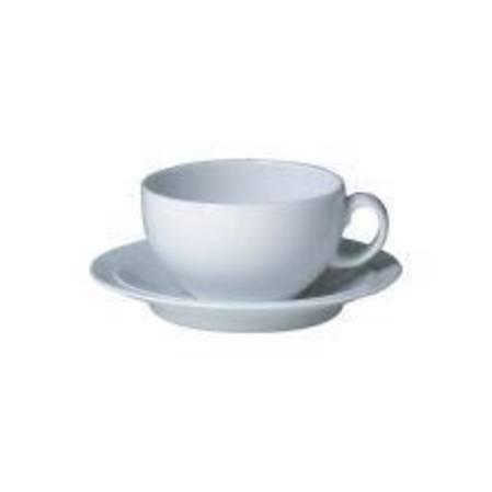 Denby White Tea Saucer