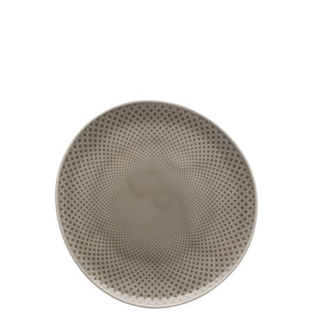 Junto Pearl Grey 22cm Plate