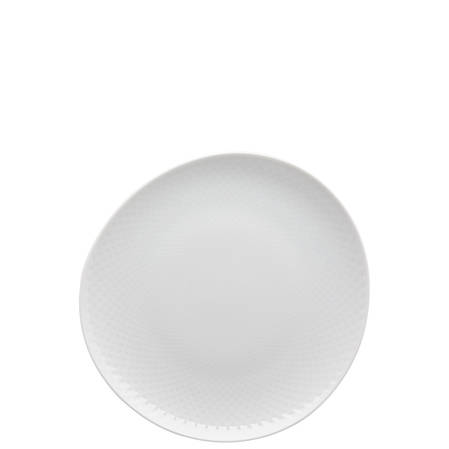 Junto White 22cm Plate