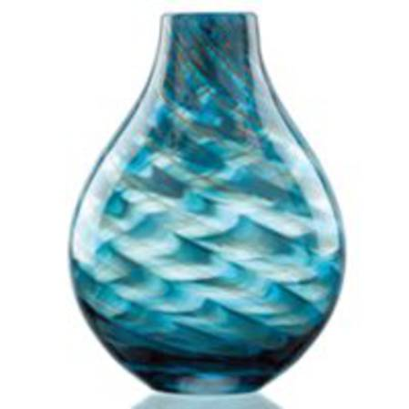 Seaview Swirl Bottle Vase