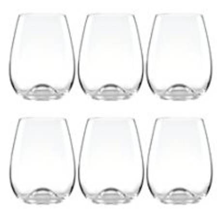 Tuscany Stemless Wine Glasses
