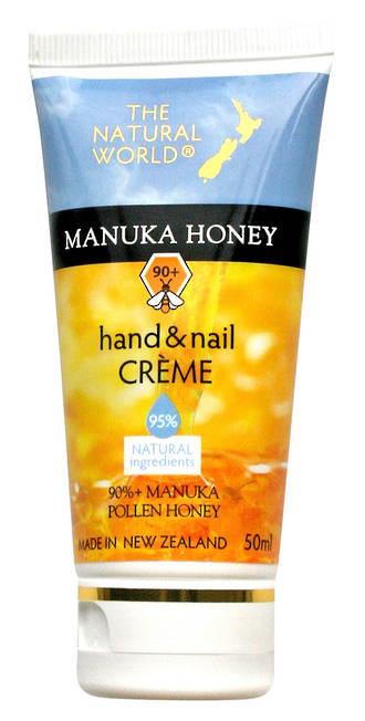 The Natural World Manuka Honey Hand & Nail Creme - 50ml
