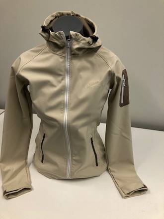 Womens Soft Shell Rain Jacket