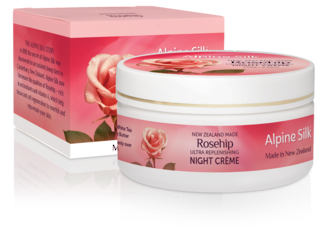 Alpine Silk Rosehip - Ultra Replenishing Night Creme