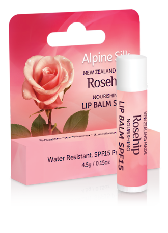 Alpine Silk Rosehip - Nourishing Lip Balm SPF15
