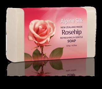 Alpine Silk Rosehip - Refreshing & Gentle Soap