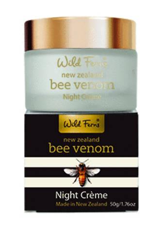 Bee Venom Night Creme with active Manuka Honey