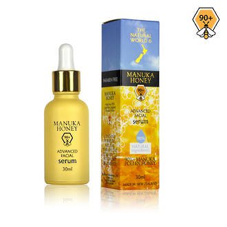 The Natural World Manuka Honey Advanced Facial Serum - 30ml