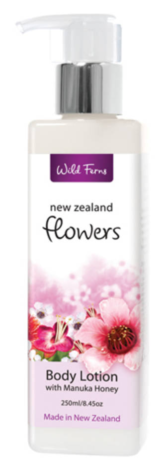 New Zealand Flowers Body Lotion with Manuka Honey FLBL