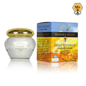 The Natural World Manuka Honey Night Intensive Revival Creme