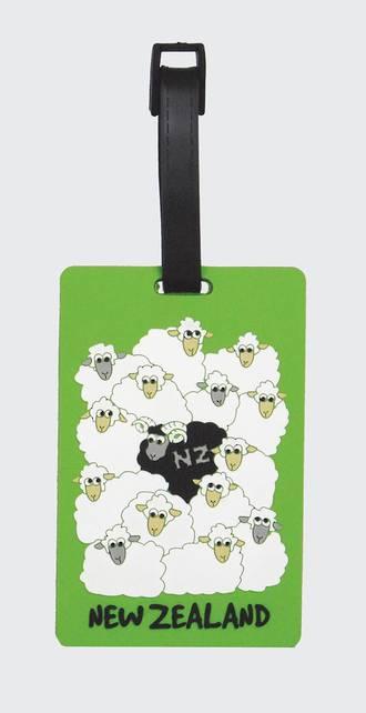 Luggage Tag of New Zealand - Sheep