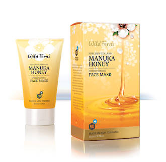 Wild Ferns Manuka Honey Face Mask