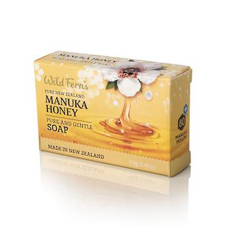 Wild Ferns Manuka Honey Pure and Gentle Soap - 40g Guest Soap