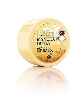 Wild Ferns Manuka Honey Conditioning Lip Balm