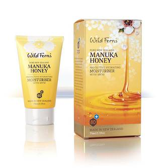 Wild Ferns Manuka Honey Protective Hydrating Moisturiser with SPF30