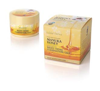 Wild Ferns Manuka Honey Rebalancing Night Crème