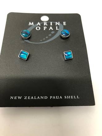 MOE93 - Marine Opal Stud  Earring Set - 2 Designs