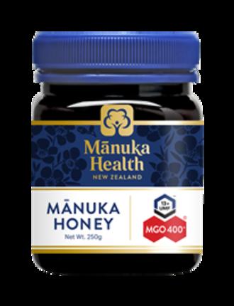Manuka Health New Zealand Manuka Honey MGO 400+ 250gm