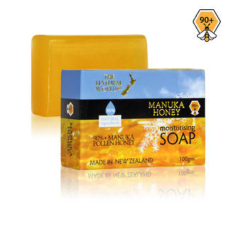 The Natural World Manuka Honey Moisturising Soap 100gm