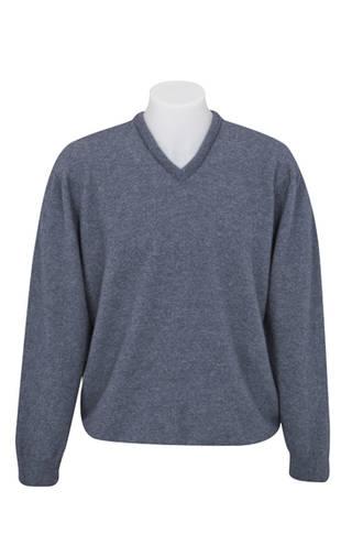 NB121 Vee Neck Plain Sweater