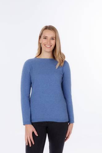 Merino Possum Round Neck Plain Sweater