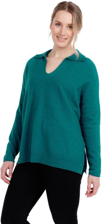 NB835 Polo Collar Sweater