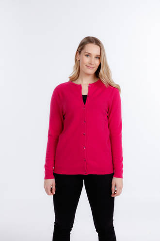 NB846 Button Neck Cardigan