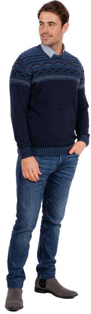 Merino Possum Breaker Sweater - Slim Fit