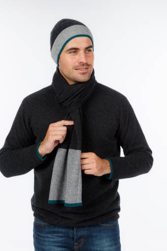 NX413 Sports Stripe Scarf