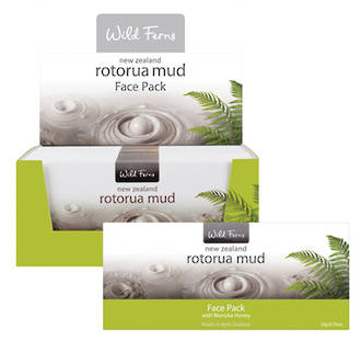 Wild Ferns Rotorua Mud Face Pack with Manuka Honey RMFP