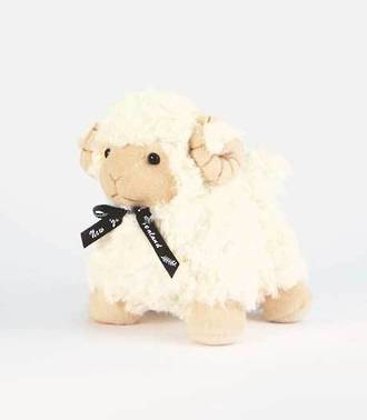 Ram standing 25cm with Black Ribbon - E23829