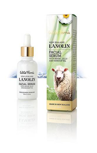 Wild Ferns Lanolin Facial Serum