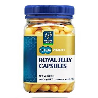 Manuka Health New Zealand Royal Jelly (180 capsules)