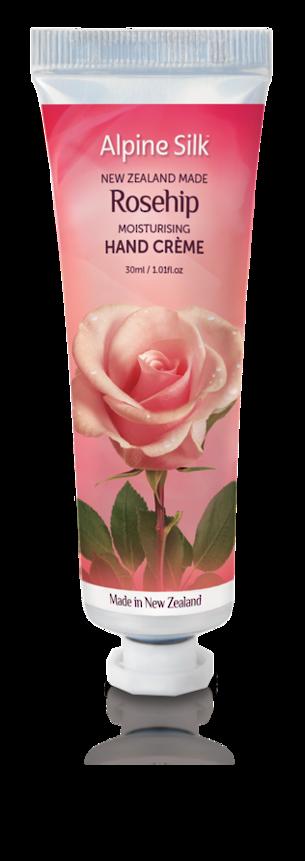 Alpine Silk Rosehip - Moisturising Hand Creme 30ml