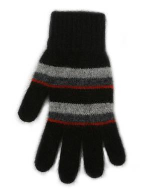 Merino Possum  Accent Stripe Glove