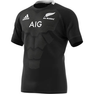 2019 All Blacks Home Jersey Short Sleeve