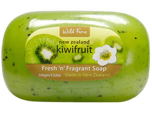 Wild Ferns Kiwifruit Fragrant Soap 100g/3.52oz
