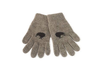 Merino Possum Koru Kiwi Gloves
