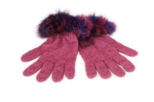 ZKO56 Koru Fur Trim Gloves