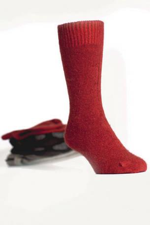 Merino Possum Koru Dress socks
