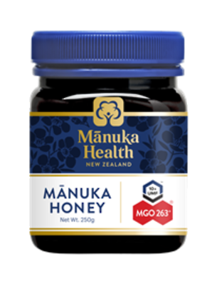 Manuka Health New Zealand Manuka Honey MGO 263+ 250gm