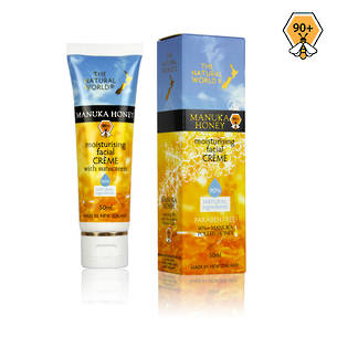 The Natural World Manuka Honey Moisturising Facial Creme with sunscreen