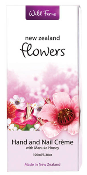 New Zealand Flowers Hand and Nail creme with Manuka Honey - FLHN