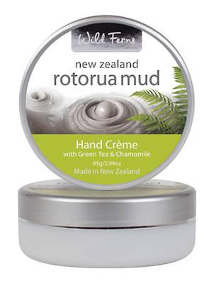 Wild Ferns Rotorua Mud Hand Creme with Green Tea